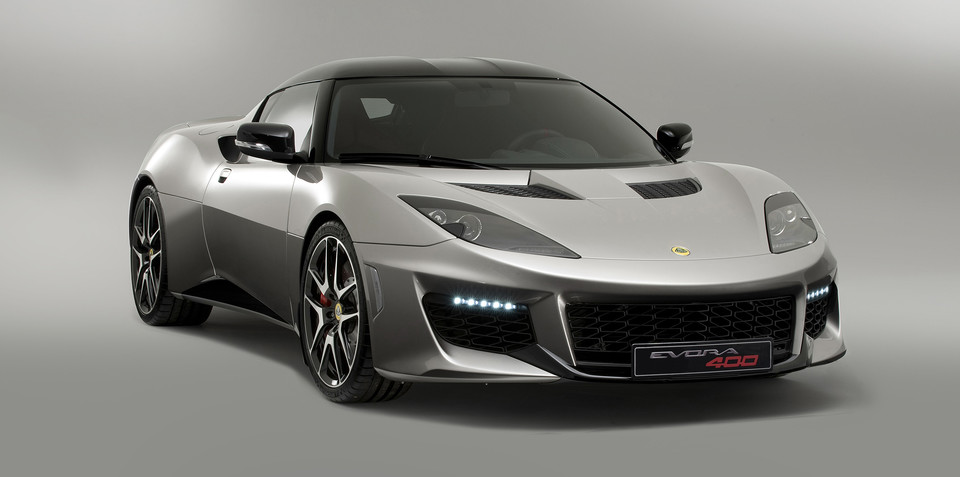 Lotus Evora 400 features more power, less weight, improved entry and exit