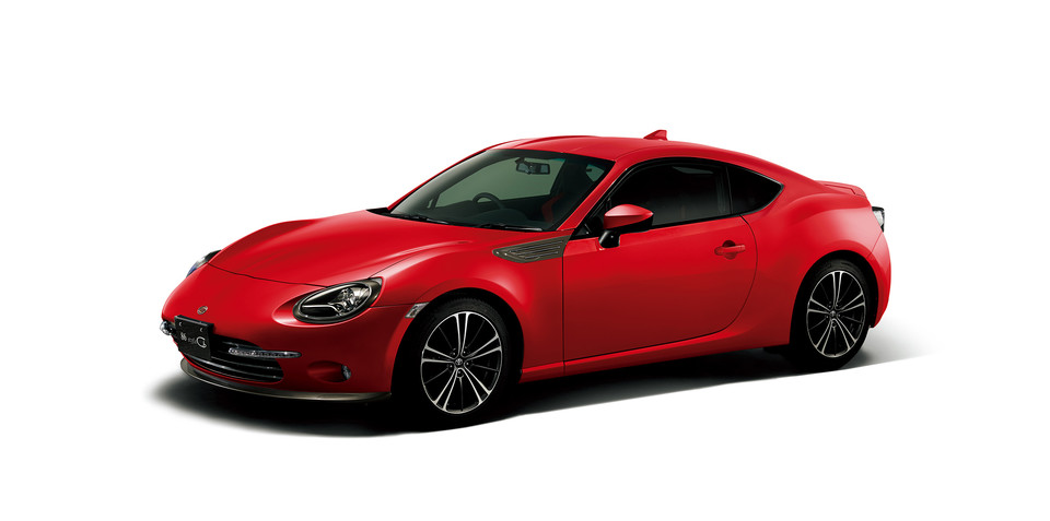 Toyota 86 Style Cb: Restyled sports car has a softer face, is Japan-only