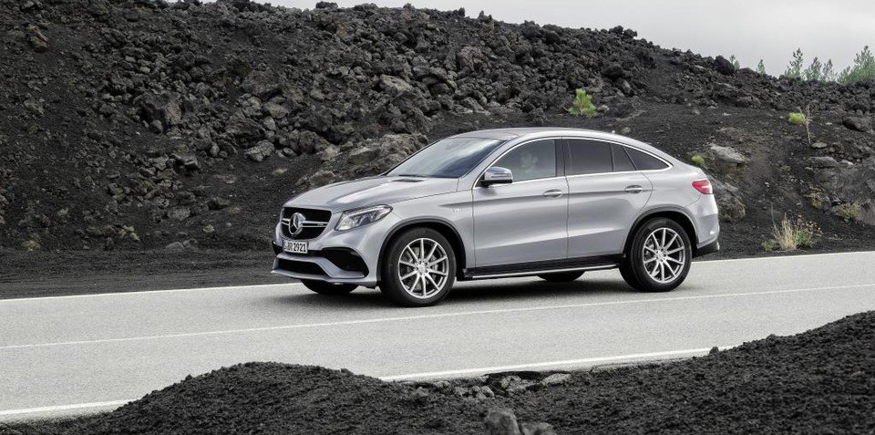 """Mercedes-Benz GLE Coupe """"will sell well in Australia"""", company claims"""