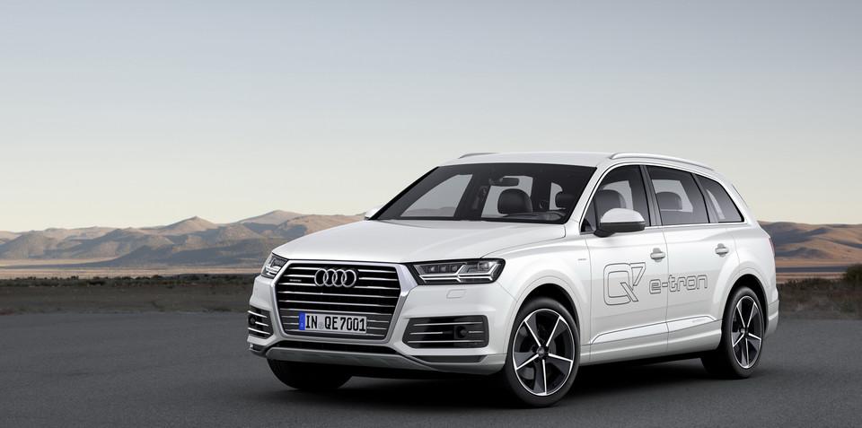 2015 Audi Q7 e-tron diesel plug-in hybrid revealed, Australia confirmed: UPDATE