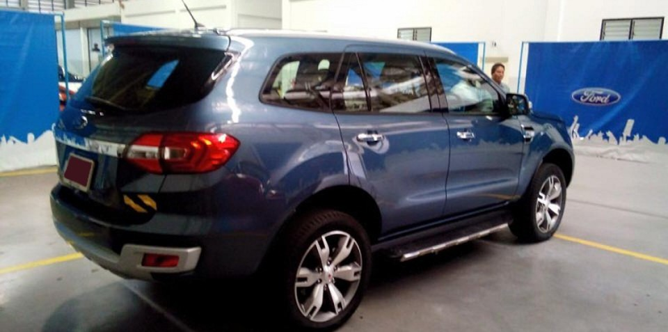 2015 Ford Everest spotted in production trim