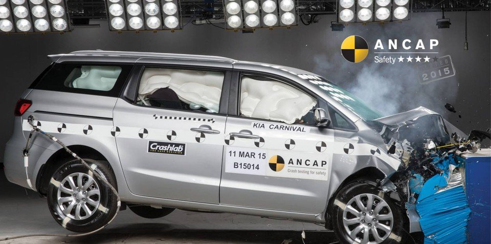 Kia Carnival four-star ANCAP result not just a seatbelt reminder issue