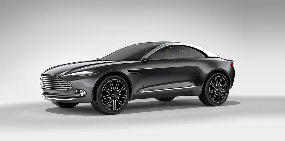 Aston Martin DBX Concept breaks new ground at Geneva