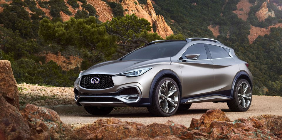 Infiniti plans model onslaught over the next 18 months