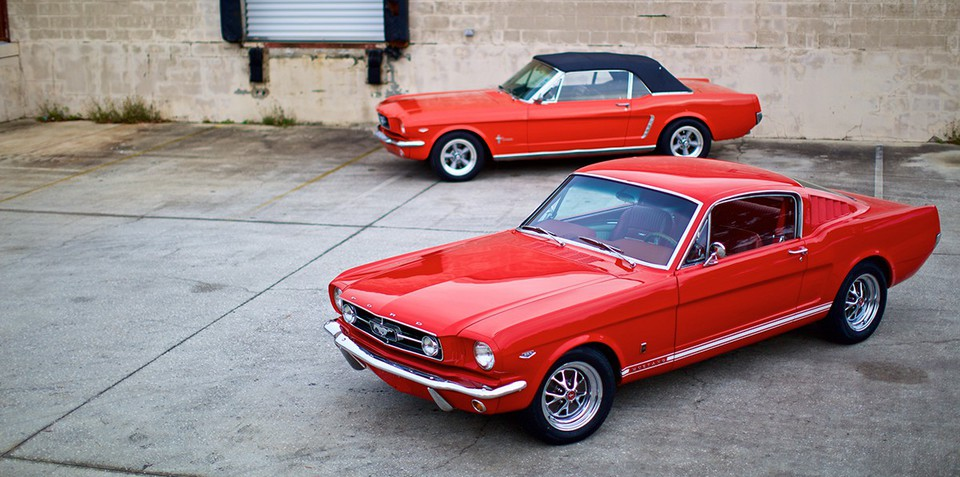 Ford Mustang:: 'brand new' 1964 Pony cars team V8 power with IRS