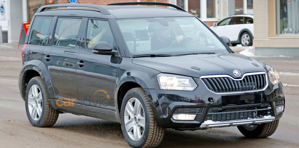 Skoda seven-seat SUV spied during testing