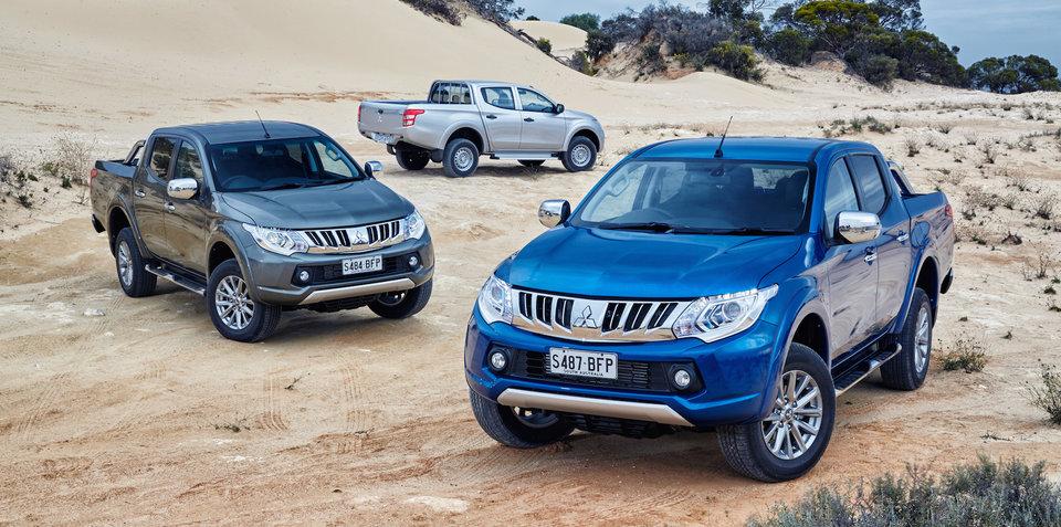 2016 Mitsubishi Triton and Pajero Sport recalled for tow-bar fix