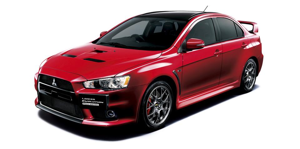 Mitsubishi Lancer Evolution Final Edition available for order in Japan