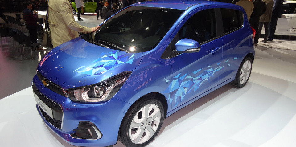 2015 Chevrolet Spark turbocharged hot-hatch a chance