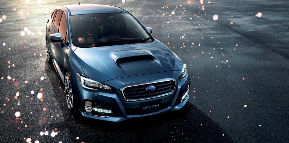 Subaru Levorg :: still no decision on Japanese performance wagon