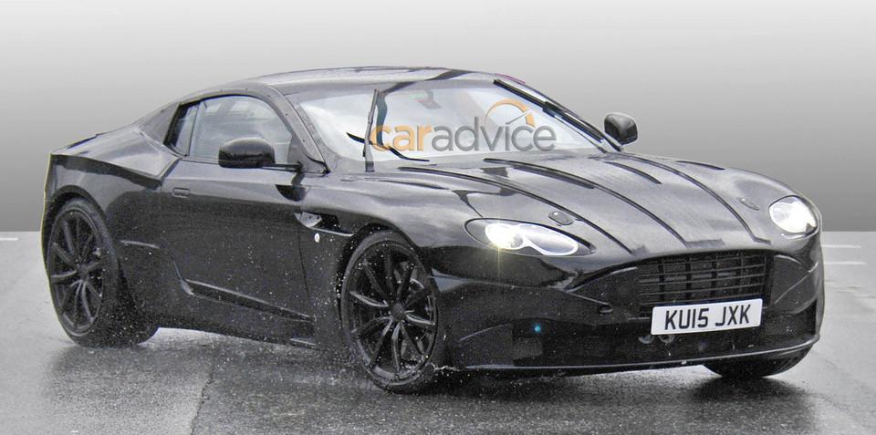 Aston Martin DB9 successor spy photos