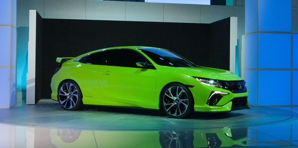 New-gen Honda Civic turbo sedan and hatch set for Australia from mid 2016