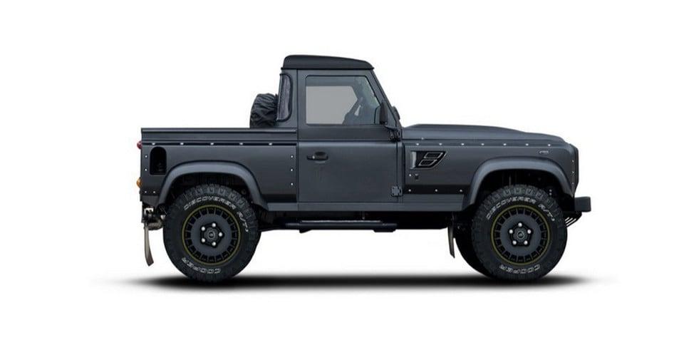 Kahn Flying Huntsman Pickup adds aggro to Land Rover Defender ute