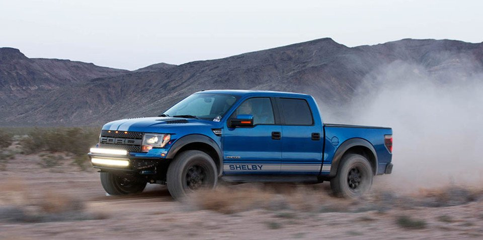 Shelby Baja 700 takes the Ford F-150 SVT Raptor to the max
