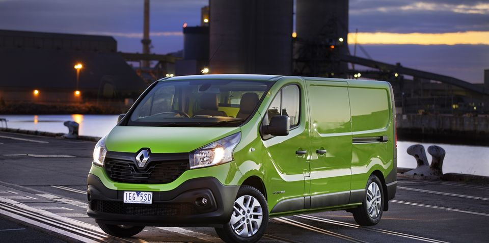 No Renault Trafic auto imminent, though company admits mistake