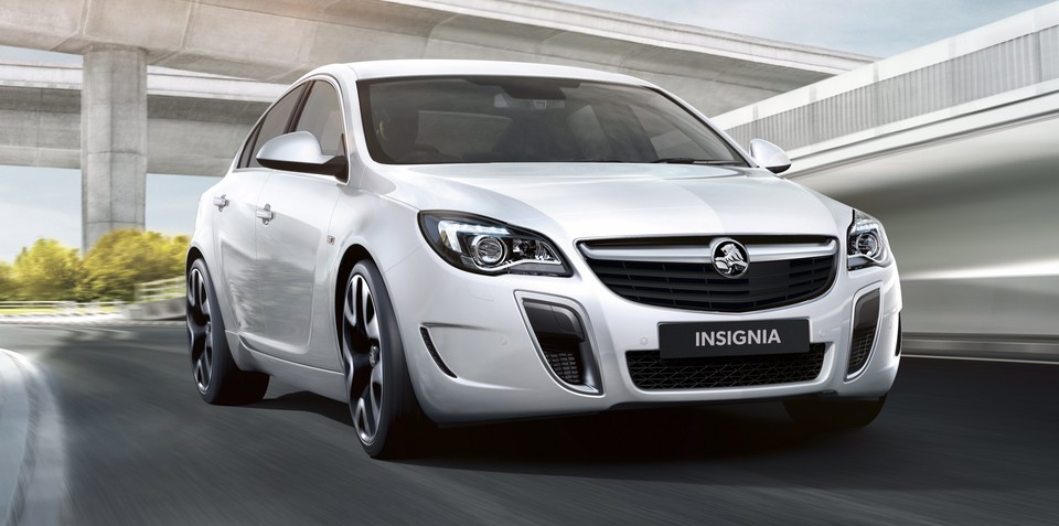 Holden Insignia VXR sedan pricing and specifications