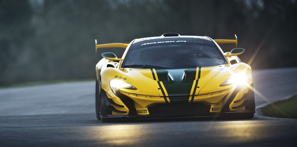 McLaren P1 GTR to be made road legal by outside firm