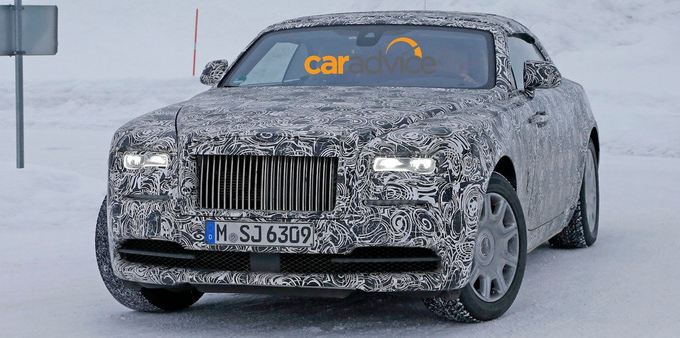 Rolls-Royce Dawn : Wraith drophead name announced, launching in Q1 2016