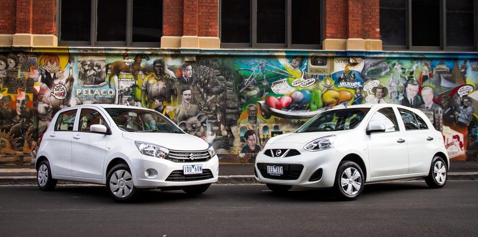 Nissan Micra ST v Suzuki Celerio : Comparison Review