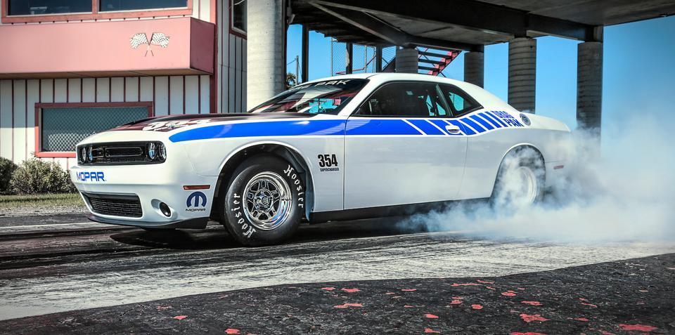 Dodge Challenger Mopar 'Drag Pak' set to supercharge straight-line fans