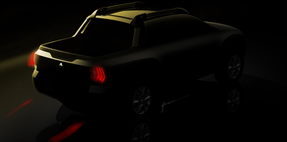 Renault pick-up teased ahead of international debut