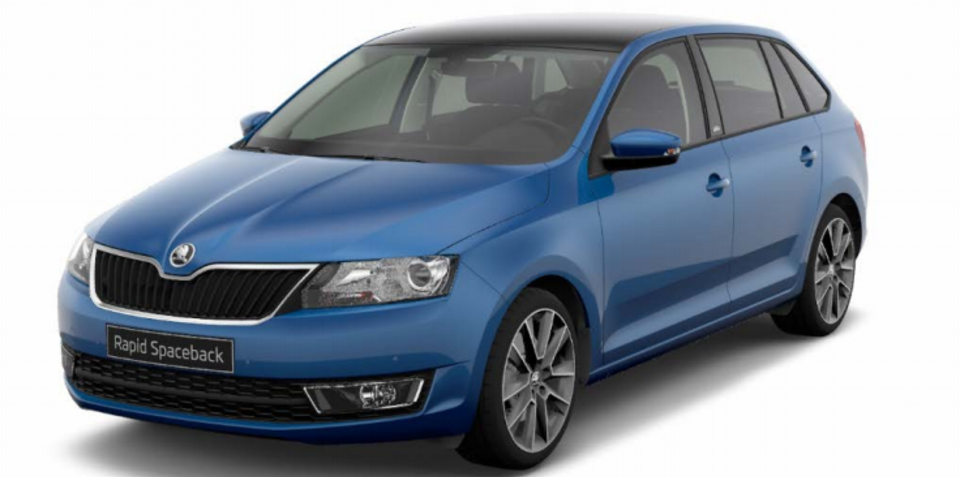 2015 Skoda Rapid Spaceback 120 Edition pricing and specifications