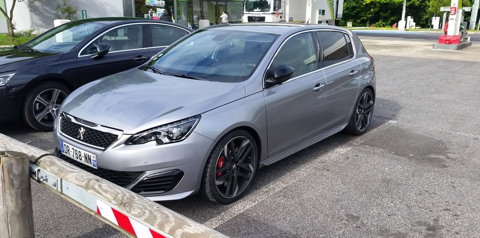 """Peugeot 308 """"GTi"""" spotted undisguised prior to Goodwood debut"""