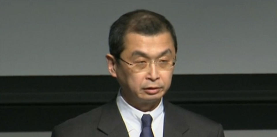Takata president apologises for airbag deaths, injuries