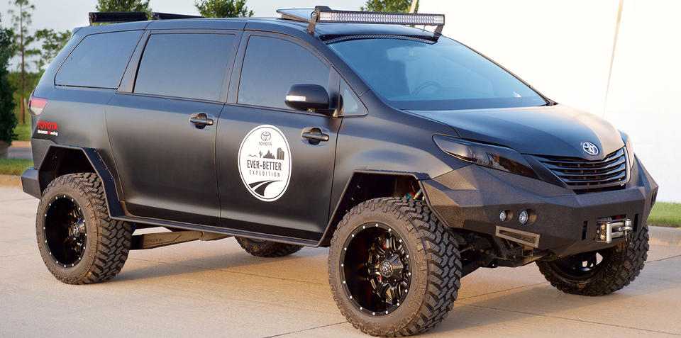 Toyota UUV marries ute underpinnings to a people mover body