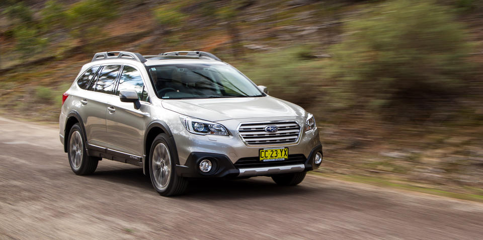 2015 Subaru Liberty and Outback recalled for electronic parking brake fault