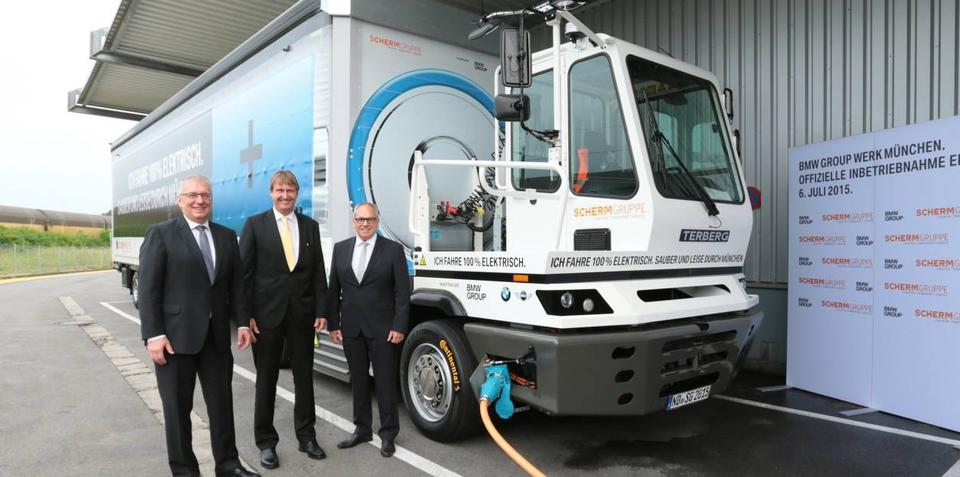 BMW adds electric truck to increasingly green manufacturing program