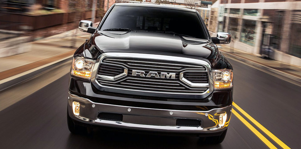 Fiat Chrysler working on Ram 1500 ute case for Australia