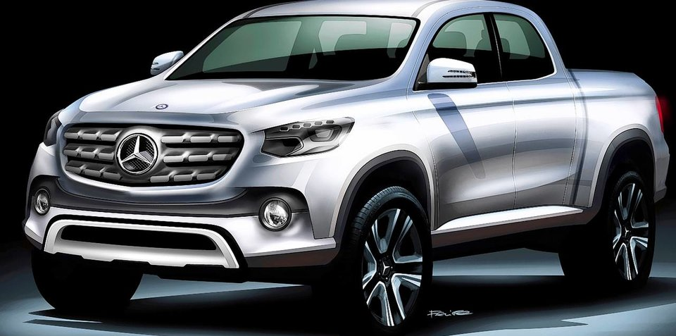 Mercedes-Benz X-Class/Z-Class ute concept rumoured for Paris motor show