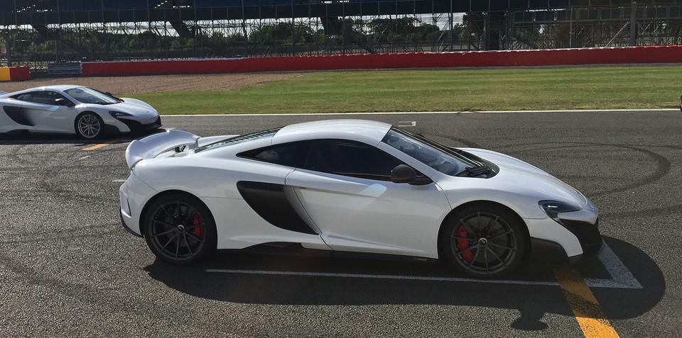 McLaren 675LT launches at Silverstone