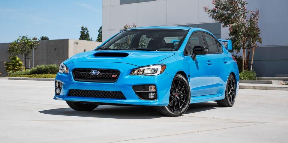 Subaru WRX, WRX STI and BRZ limited edition Hyper Blue models coming to Australia