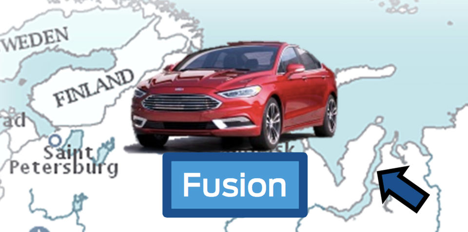 Ford Fusion/Mondeo facelift revealed in corporate presentation