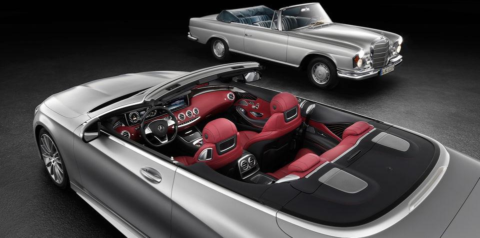 2016 Mercedes-Benz S-Class Cabriolet interior revealed