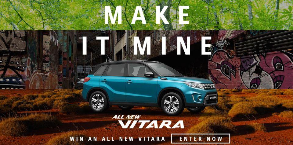 Suzuki Vitara pricing revealed in competition fine print