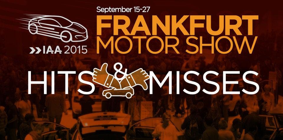 2015 Frankfurt motor show: hits and misses