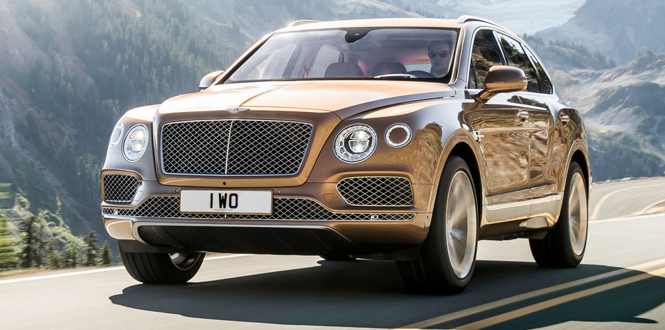Bentley bentayga price australia