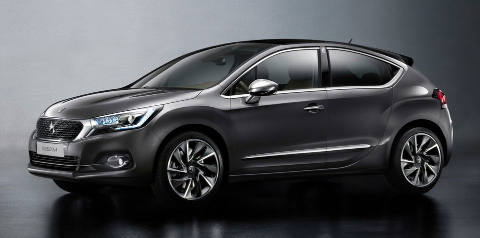 2016 Citroen DS4 hatch, DS4 Crossback SUV revealed ahead of Frankfurt debut