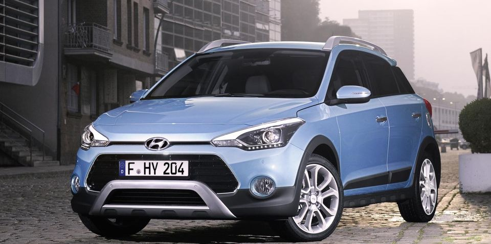 hyundai i20 active small crossover revealed in european guise. Black Bedroom Furniture Sets. Home Design Ideas
