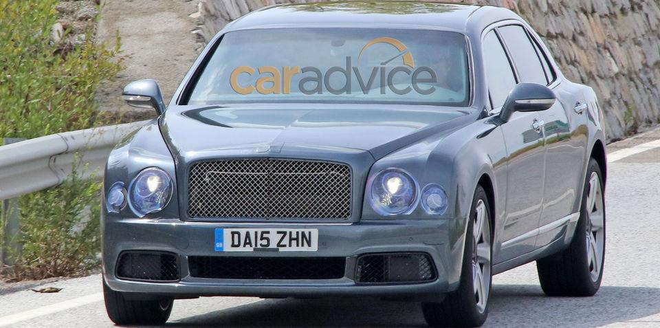 2016 Bentley Mulsanne facelift and LWB spy photos