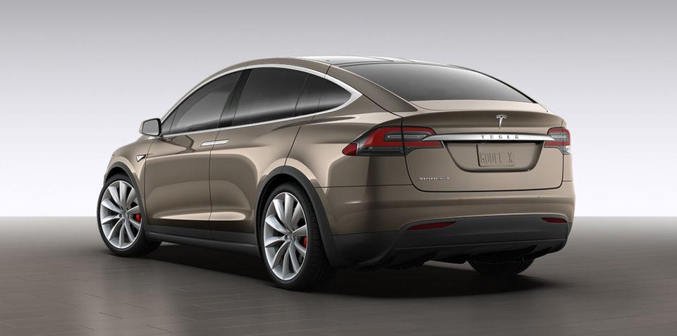Tesla Model X revealed via online configurator