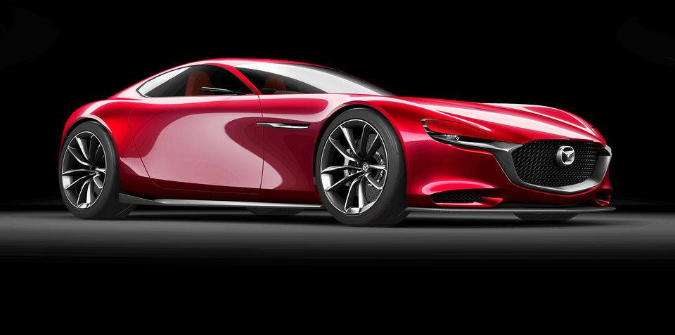 Mazda RX-9 previewed with RX-Vision rotary concept at Tokyo motor show