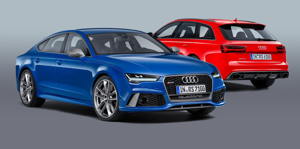 Audi RS6 Avant, RS7 Sportback Performance models revealed: 'Supercars' due in Australia next year