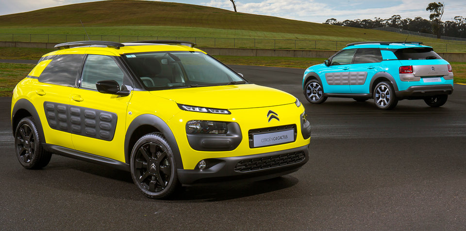 Citroen C4 Cactus pricing and specifications: Funky French SUV from $26,990