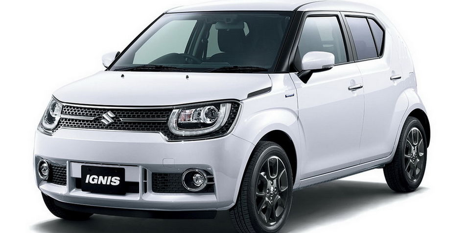 2016 Suzuki Ignis revealed ahead of Tokyo motor show, Australian potential unclear