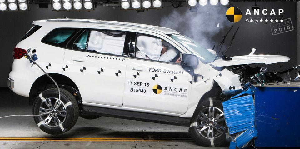 ANCAP crash test results: Five stars for Fortuner, Everest, Passat and more