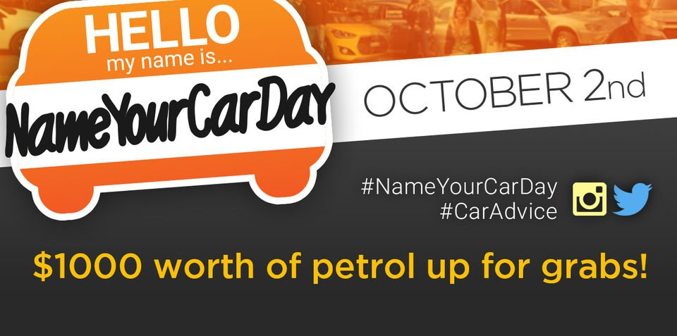 Name Your Car Day 2015